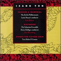 Isang Yun: Fanfare & Memorial - Tara Helen O'Connor (flute); Lorin Maazel (conductor)