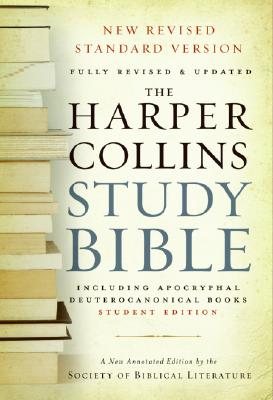 HarperCollins Study Bible-NRSV-Student - Attridge, Harold W (Editor), and Meeks, Wayne A, Professor (Editor), and Bassler, Jouette M (Editor)