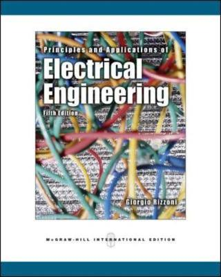 Principles and Applications of Electrical Engineering - Rizzoni, Giorgio