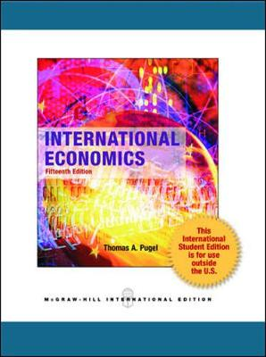 International Economics - Pugel, Thomas A.