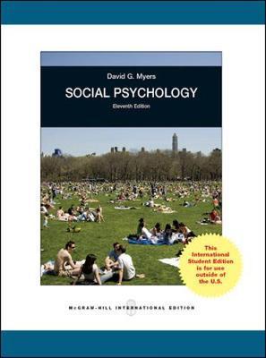 Social Psychology - Myers, David G.