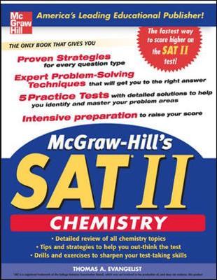 McGraw-Hill's SAT II: Chemistry - Evangelist, Thomas