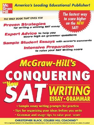 McGraw-Hill's Conquering the New SAT Writing - Black, Christopher