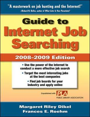 Guide to Internet Job Searching - Dikel, Margaret Riley, and Roehm, Frances E