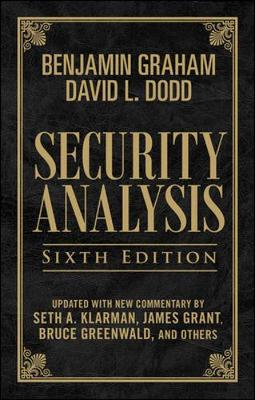 Security Analysis: Principles and Technique - Graham, Benjamin, and Dodd, David