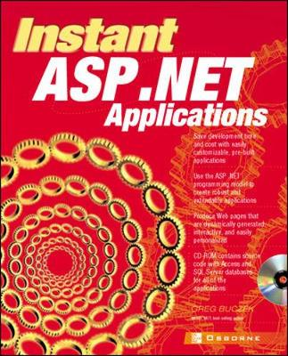 Instant ASP.Net Applications - Buczek, Greg