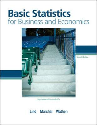 Basic Statistics for Business and Economics with Formula Card - Lind Douglas, and Marchal William, and Wathen Samuel