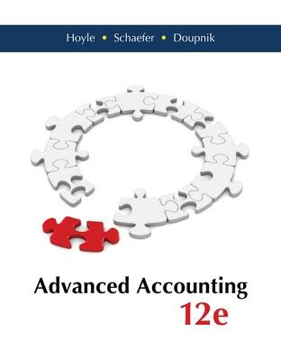 Advanced Accounting - Hoyle, Joe Ben, and Schaefer, Thomas, and Doupnik, Timothy S.