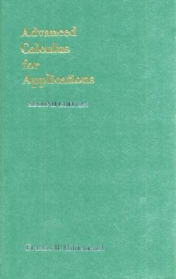 Advanced Calculus for Applications - Hildebrand, Francis Begnaud