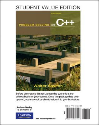 Student Value Edition for Problem Solving with C++ - Savitch, Walter