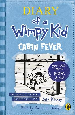 Diary of a Wimpy Kid Cabin Fever Bk & CD - Kinney, Jeff