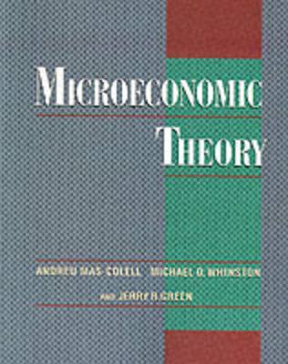 Microeconomic Theory - Mas-Colell, Andrea