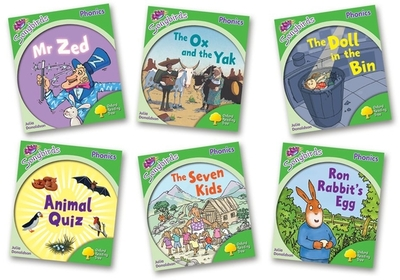 Oxford Reading Tree: Stage 2: More Songbirds Phonics: Pack (6 Books, 1 of Each Title, Including Free Teaching Notes) - Donaldson, Julia