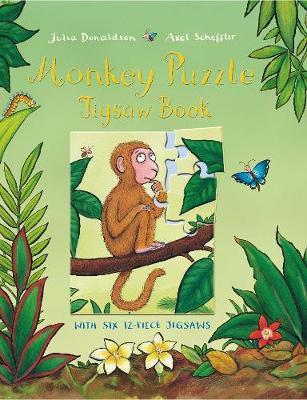 Monkey Puzzle Jigsaw Book - Donaldson, Julia