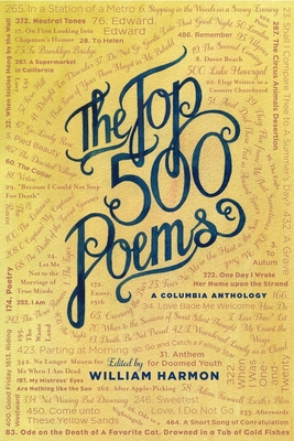 The Top 500 Poems - Harmon, William, Professor (Editor)