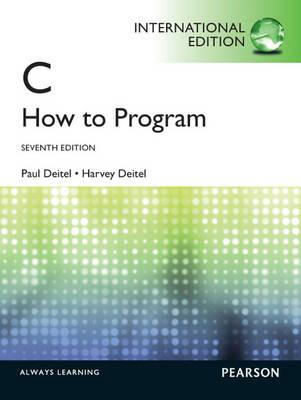 C How to Program - Deitel, Harvey M., and Deitel, Paul J.