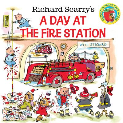 Richard Scarry's a Day at the Fire Station - Scarry, Richard, and Scarry, Huck