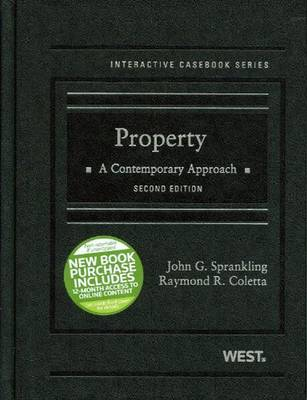 Property: A Contemporary Approach - Sprankling, John G, and Coletta, Raymond R