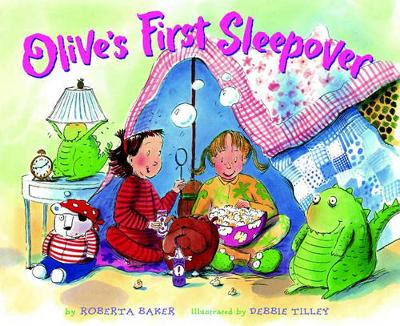 Olive's First Sleepover - Baker, Roberta