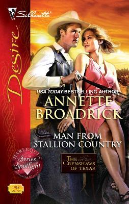 Man from Stallion Country - Broadrick, Annette
