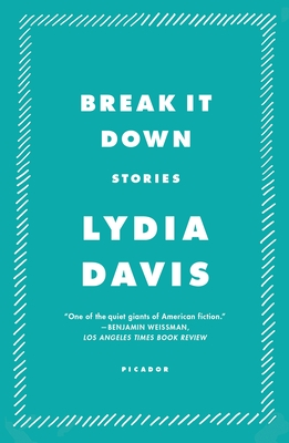 Break It Down - Davis, Lydia
