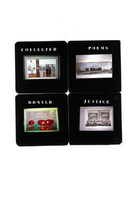 Collected Poems - Justice, Donald