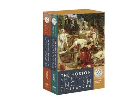 The Norton Anthology of English Literature, the Major Authors - Greenblatt, Stephen J, Professor (Editor), and Christ, Carol T (Editor), and David, Alfred (Editor)