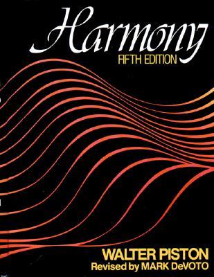 Harmony - Piston, Walter, and Jannery, Arthur, and Devoto, Mark (Photographer)