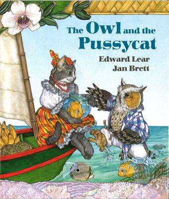 The Owl and the Pussycat Board Book - Lear, Edward