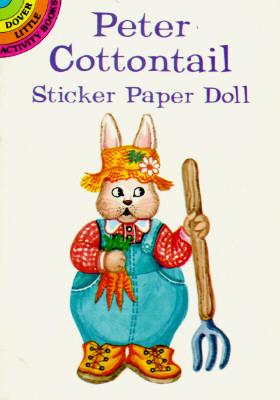 Peter Cottontail Sticker Paper Doll - Stewart, Pat