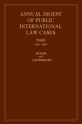International Law Reports - McNair, Arnold D (Editor), and Lauterpacht, H (Editor)