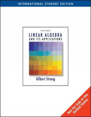 Linear Algebra and Its Applications - Strang, Gilbert