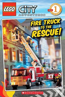 Lego City: Fire Truck to the Rescue (Level 1): Fire Truck to the Rescue! - Sander, Sonia, and Lego