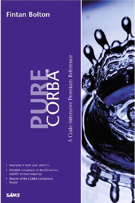 Pure CORBA 3 - Bolton, Fintan, and Walshe, Eamon