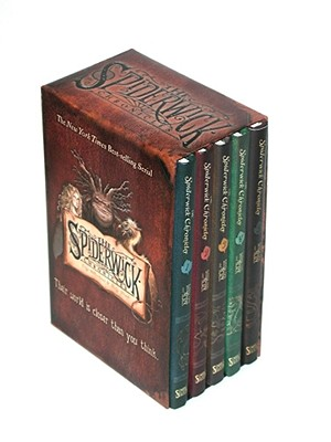The Spiderwick Chronicles (Boxed Set: The Field Guide; The Seeing Stone; Lucinda's Secret; The Ironwood Tree; The Wrath of Mulgrath - Black, Holly (Illustrator), and DiTerlizzi, Tony (Illustrator)