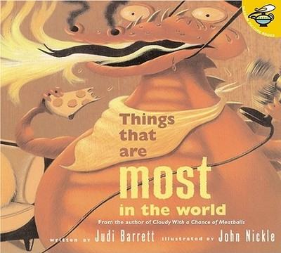 Things That Are Most in the World - Barrett, Judi