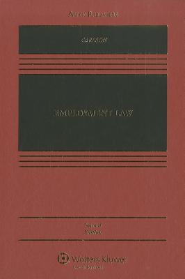 Employment Law - Carlson, Richard, PhD