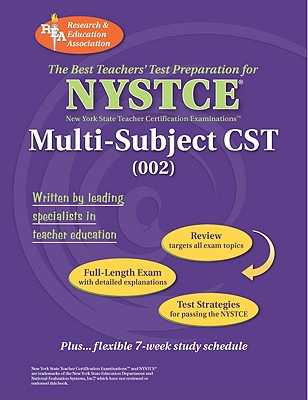 NYSTCE Multi-Subject CST (002) - Staff of Research Education Association (Creator)