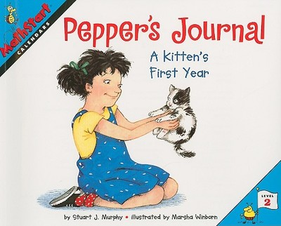 Pepper's Journal: A Kitten's First Year - Murphy, Stuart J