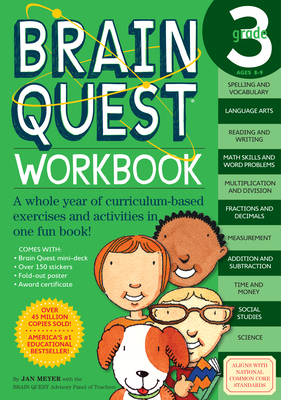 Brain Quest Grade 3 Workbook - Meyer, Janet A, and Shults, Anna (Editor)