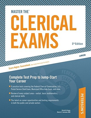 Arco Master the Clerical Exams - Heuer, Christi, and Saronson, Sharon S, MSE, and Niesz, John J