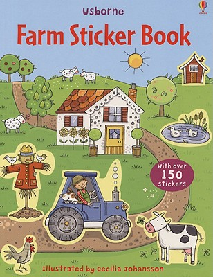 Farm Sticker Book - Taplin, Sam (Text by)