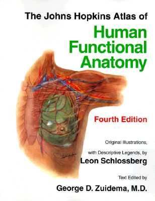The Johns Hopkins Atlas of Human Functional Anatomy - Johns Hopkins University, and Zuidema, George D, Dr. (Editor)