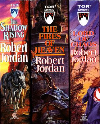 The Wheel of Time, Boxed Set II, Books 4-6: The Shadow Rising, the Fires of Heaven, Lord of Chaos - Jordan, Robert, and Jordan