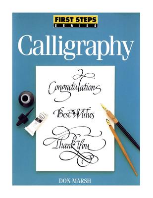 Calligraphy - Marsh, Don