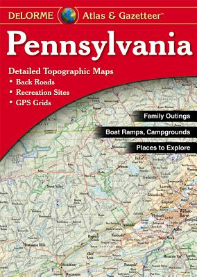 Pennsylvania - Delorme - Rand McNally, and Delorme Publishing Company, and DeLorme