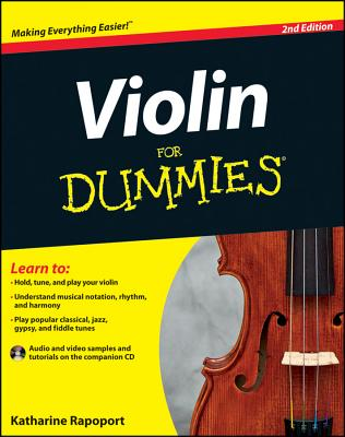 Violin For Dummies - Rapoport, Katharine