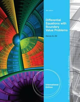 Differential Equations with Boundary-Value Problems - Zill, Dennis G., and Cullen, Michael