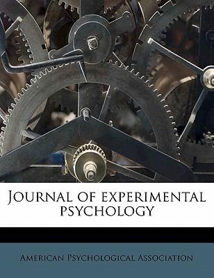 Journal of Experimental Psychology - American Psychological Association (Creator)