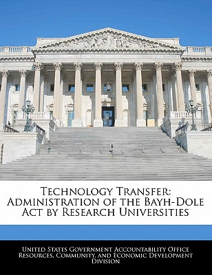 Technology Transfer: Administration of the Bayh-Dole Act by Research Universities - United States Government Accountability (Creator)